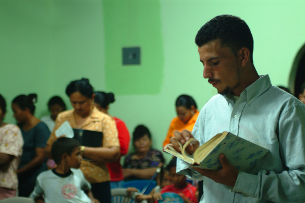 Honduras church service