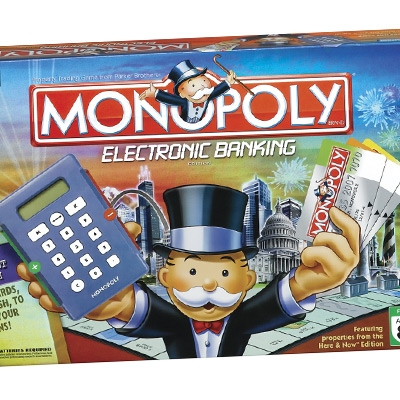 Electronic monoply