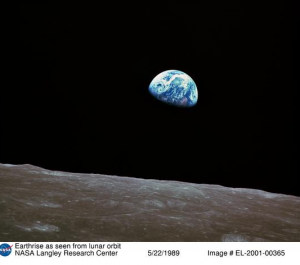 NASA photo: Earthrise