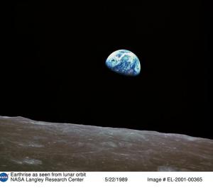 NASA photo: Earthrise