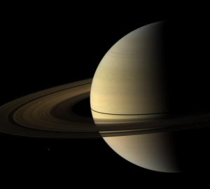 A view of Saturn